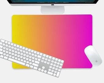 Gradient, Desk Mat, Mouse Pad, Large Mouse Pad, Extended Mouse Pad, Over Sized Mouse Pad, Neoprene, 24x14 Inches