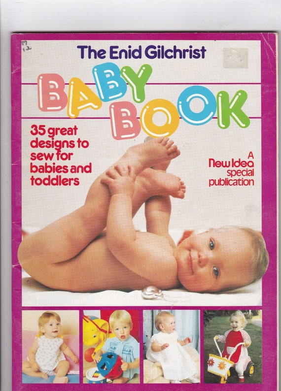 Baby Sewing Patterns Pattern Drafting Book by Enid Gilchrist ...