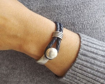 Leather bracelet for women, bracelets for women, leather bracelet, women leather bracelet, boho bracelet