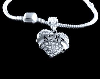 Aunt gift aunt bracelet best aunt aunt jewelry gift