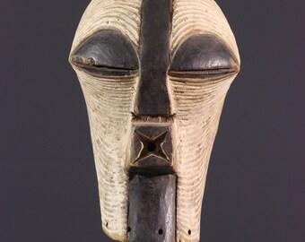 Mask Songye Kifwebe African art 11539