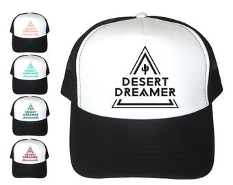 Desert Dreamer, Womens Trucker Hat, Trucker Hat For Women, Desert Vibes, Summer Trucker Hat, Baseball Hat, Cactus Hat, Free Spirit, Gypsy