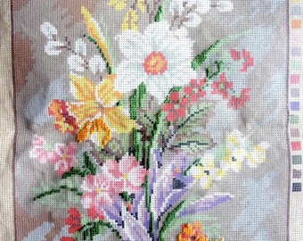 great canvas to complete a BOUQUET of flowers