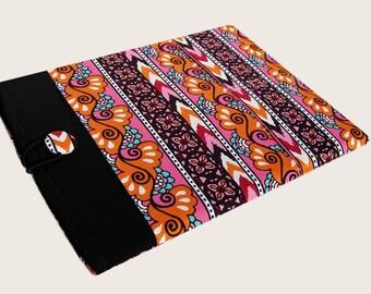 iPad Mini Cover, iPad Mini 3 Case, Kindle Fire Case, Kindle Fire HDX, Lenovo Yoga Tablet 8, Galaxy Note Tab cover, Pink and Orange