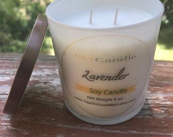 Lavender 9 oz Soy Candle