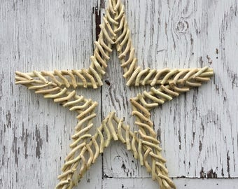 Free Shipping, Star, Rustic Star, Wood Star, Autumn Decoration, Country Home Decor