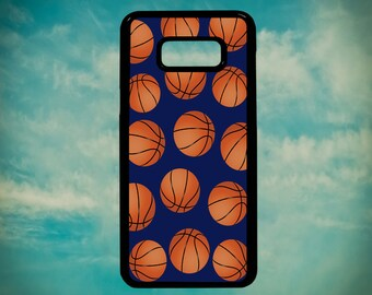 Vintage Basketball Baller Pattern for Samsung Galaxy S3 S4 S5 S6 S6 Edge S6 Edge Plus S7 S7 Edge S8 S8 Plus Phone Case Cover