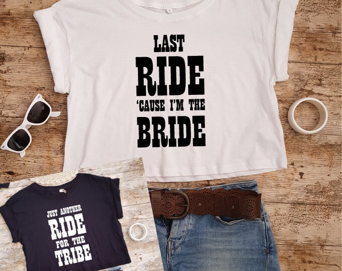 Featured listing image: Country Bachelorette Party Shirts   Brides Last Ride   Nash Bash   Bachelorette Shirts   Nashville Bachelorette   Country Bride