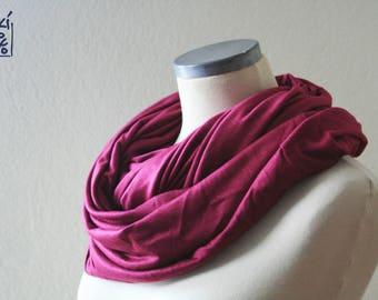 lilac nursing cover/ nursing breastfeeding scarf/ fouksia