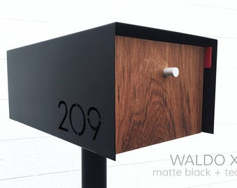Waldo XL LOCKING Modern Mailbox