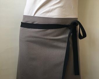 Half apron - Florist apron - Handmade Apron - Canvas apron- Custom embroidery - Barista apron - Vendor apron - Hairdresser apron