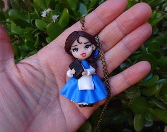 Beautiful doll-Polymer clay Doll