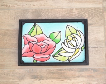 Flowers in Porcelain | Wall Hanging Art