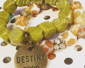Destiny Glitz Gemstone Bracelet Set