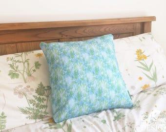 Floral Ferns Decorative Throw Cushion, Cushion Cover, Throw Cushion, Pillow, Decorative Cushion, Floral Cushion Cover