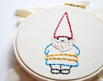 In the Backyard - Summer Embroidery Pattern
