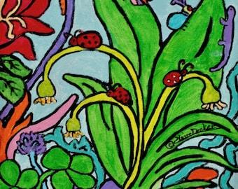 Ladybugs & Garden Friends