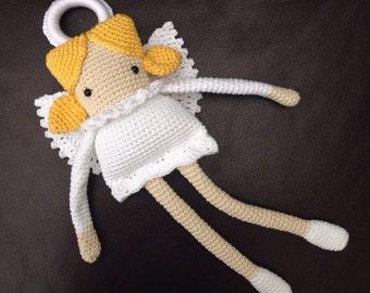 Long Legged Christmas Angel Doll Crochet Pattern