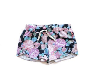 Floral Beach Shorties