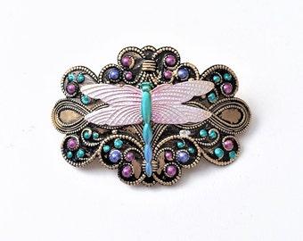 Dragonfly Hair Barrette, Women's Barrette