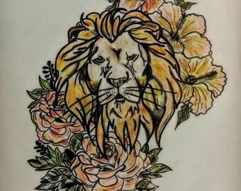 Lion's Mane (Tattoo Art)