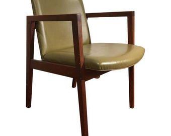 Mid Century Walnut Armchair