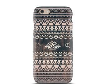 iPhone 7 tough case, iPhone 7 Plus tough case, iPhone 6s tough case, iPhone 6 tough case, iPhone 5s tough case, Tough iPhone case - Aztec