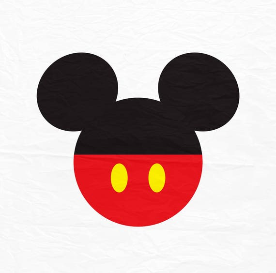 mickey mouse svg mickey mouse ears svg mickey mouse with red rh etsy com