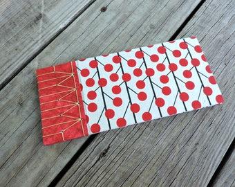Hand bound book Japanese stitch sketchbook journal
