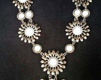 Vintage Gold-tone Statement Necklace