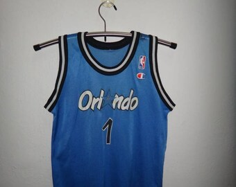 Vintage Orlando Magic NBA Jersey Hardaway Basketball Jersey