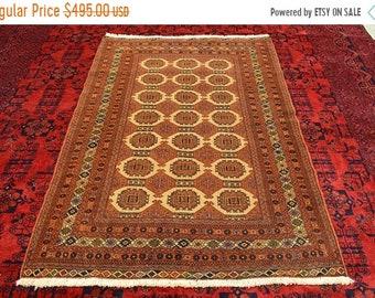 41% OFF FLAT SALE Vintage Gorgeous Saryk Turkoman Carpet