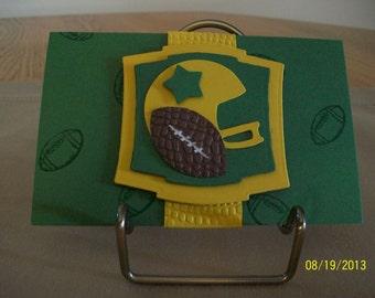 Football Gift Card Holder