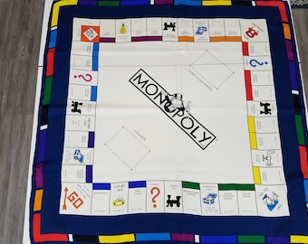 Monopoly Silk Scarf  #S3