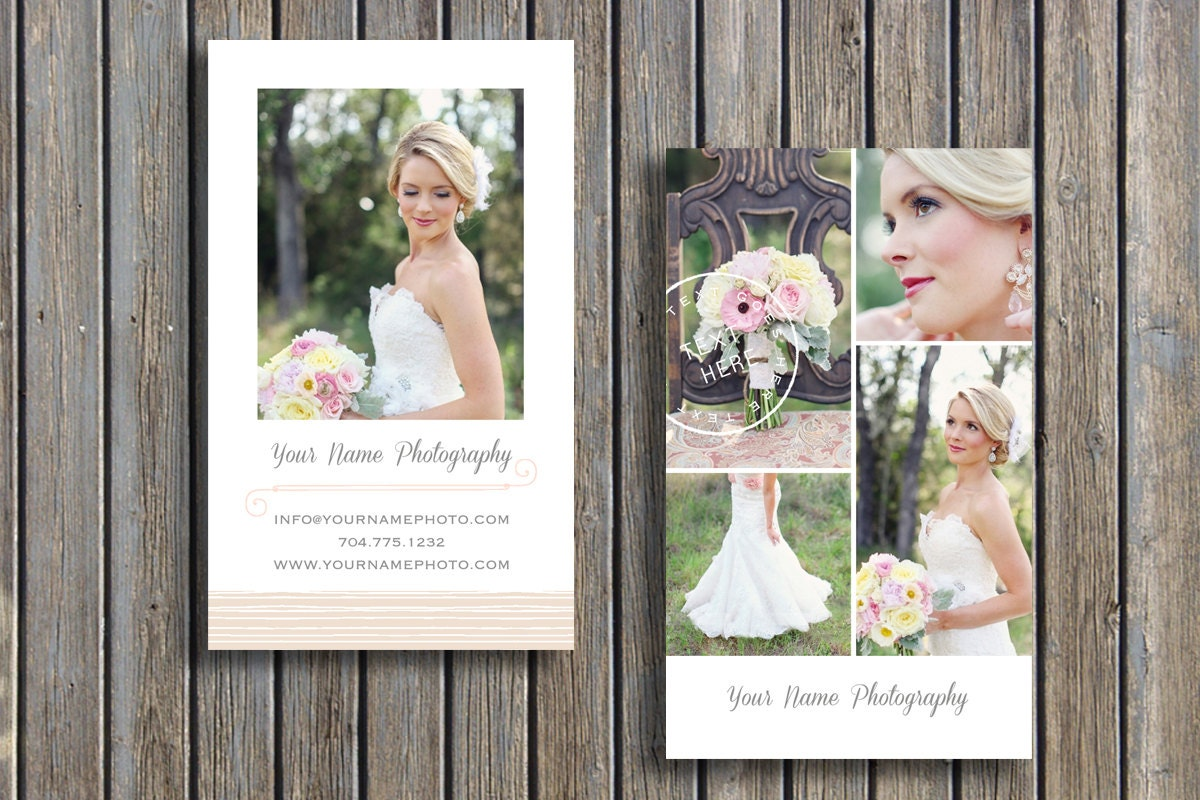 Business card template wedding photographer business card zoom flashek Choice Image