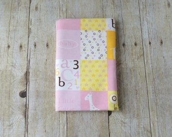 Receiving Blanket - Pink Patchwork Flannel Swaddle Blanket - Baby Girl Gift - Baby Shower Gift