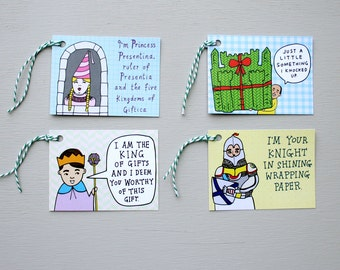 Gift Tags - Royal Tags - Pack Of Eight