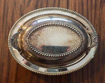 Vintage Silverplate Serving Platter