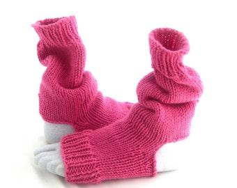 Pattern For Yoga Dance Pilate Toeless Heelless Knitted Sock