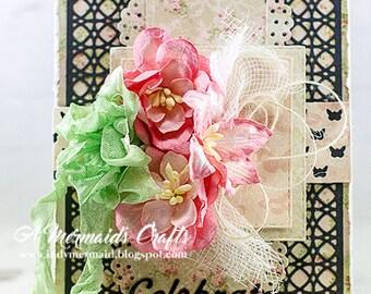 Handmade Celebrate Birthday/Congrats Card