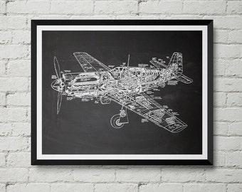 Paper clip patent request print office poster staple p 51 mustang fighter plane print ww2 aircraft sketch drawing malvernweather Gallery