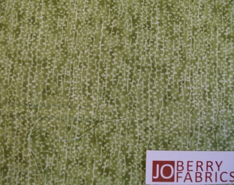 Green Tonal Fabric from Natures Trail Collection by Paintbrush Studio.  Quilt or Craft Fabric, Fabric by the Yard