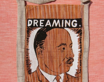 DREAMING: He Is At Work. by David Dunlap