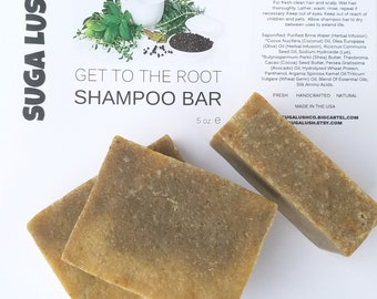 Get To The Root Shampoo Bar