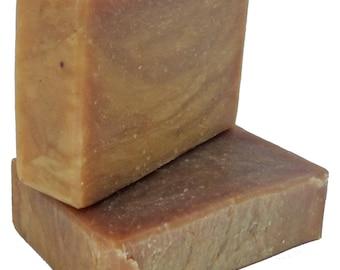 ATTIS Natural Handmade Turmeric, Neem & Tea Tree Soap   w Aloe Vera gel   Vegan