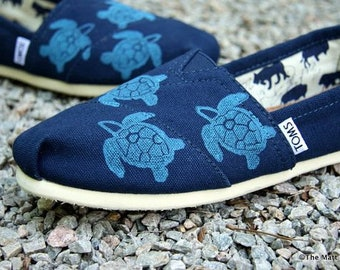 Custom Made Toms painted