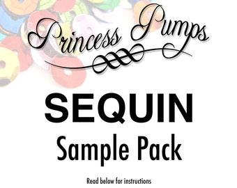 Princess Pumps Sequin Sample Pack
