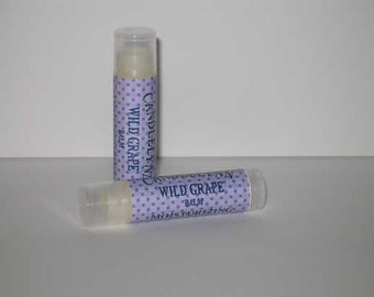 Wild Grape Lip Balm by Candle Lynn - Made with Organic Shea and Cocoa Butters