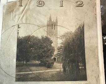 1912 Princeton University Calendar