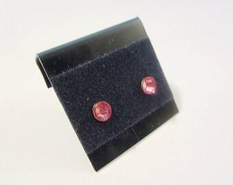 Newborn/Toddler October Birthstone Pierced Earrings